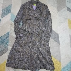 Lemon Brand Tweed Jacket Coat 10